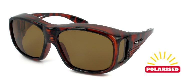 Eyelevel - Over Glass Small-Medium (Tortoise-Brown)