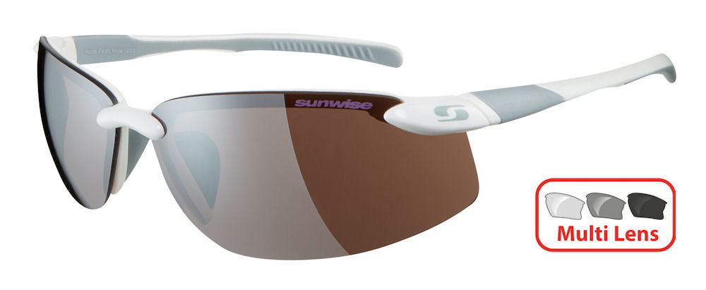 Sunwise Pacific (White) 4 Lens Interchangeable Set