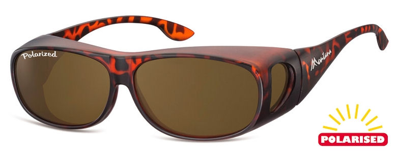 Montana - FO2C Over Glass (Small-Medium) Tortoise-Brown