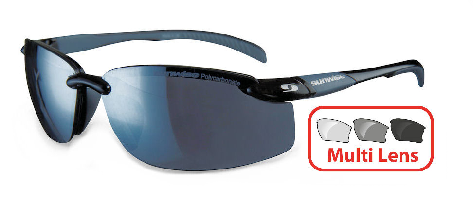 Sunwise Pacific (Black) 4 Lens Interchangeable Set
