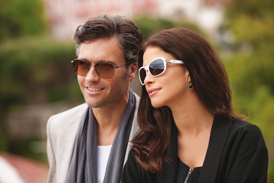 It's official – sunglasses really do make you look better!