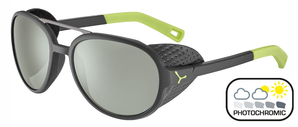 CEBE Summit (Black-Lime) Photochromic (Cat. 2-4)