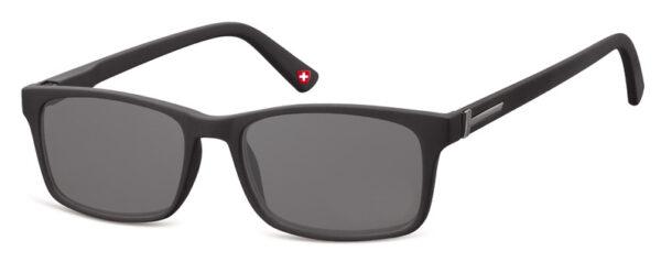 Sun Reader Black frame Grey lenses MR73S