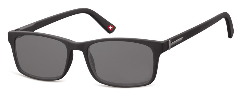 Sun Reader Black frame Grey lenses MR73S