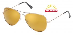 a0c9527032 Eagle Eyes Memory Flex Aviator (Gold)