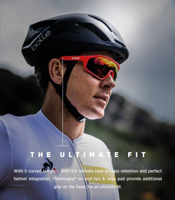 Boll 233 Shifter White Vermillon Sunglasses For Sport