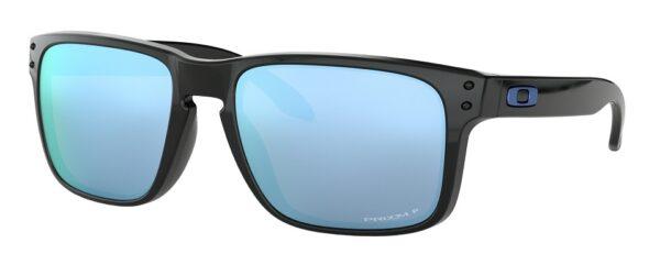 Oakley-holbrook-sunglasses-polished-black-prizm-deep-h2o-polarized-OO9102C1
