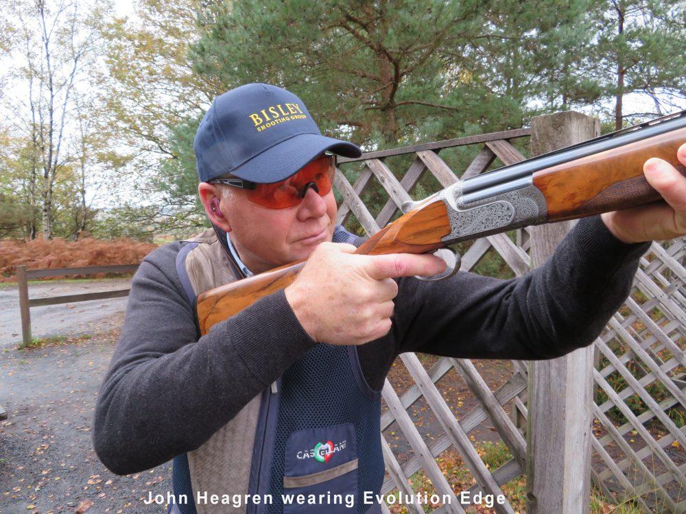 John Heagren wearing Evolution Edge