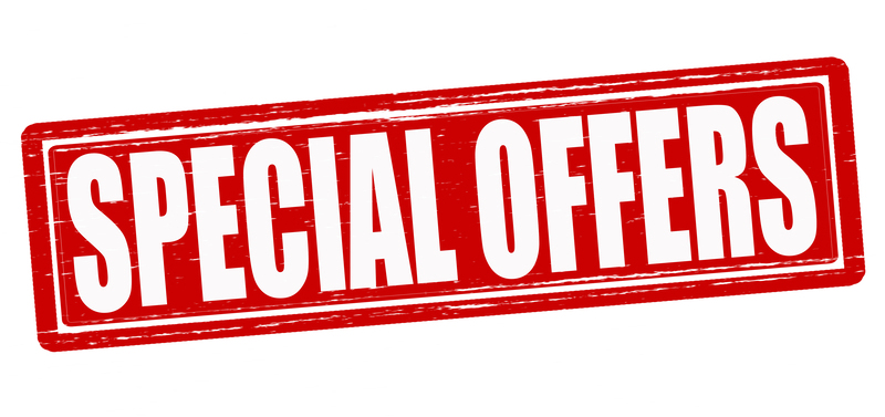 Take a browse through our Special Offers