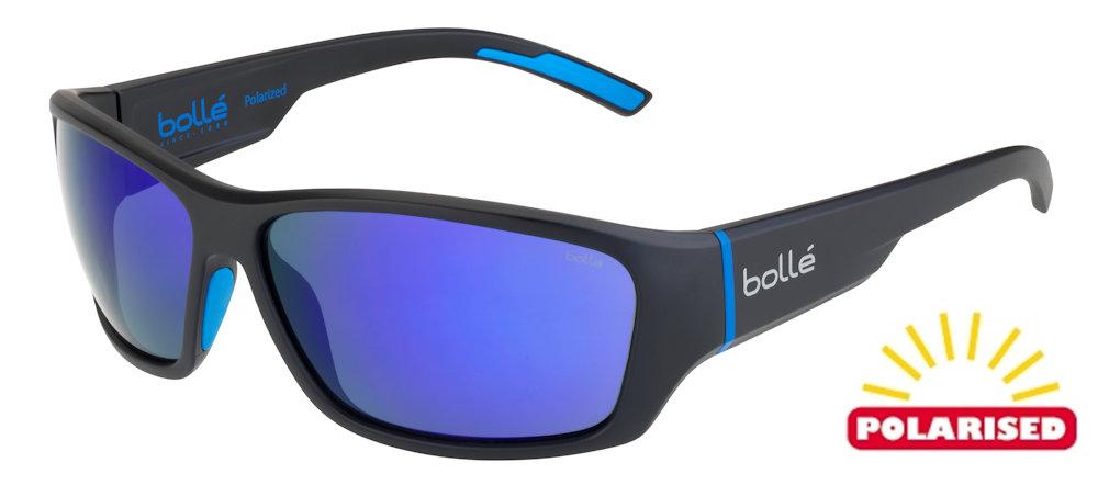 Bolle Brecken Floatable Black Red Sunglasses Blue