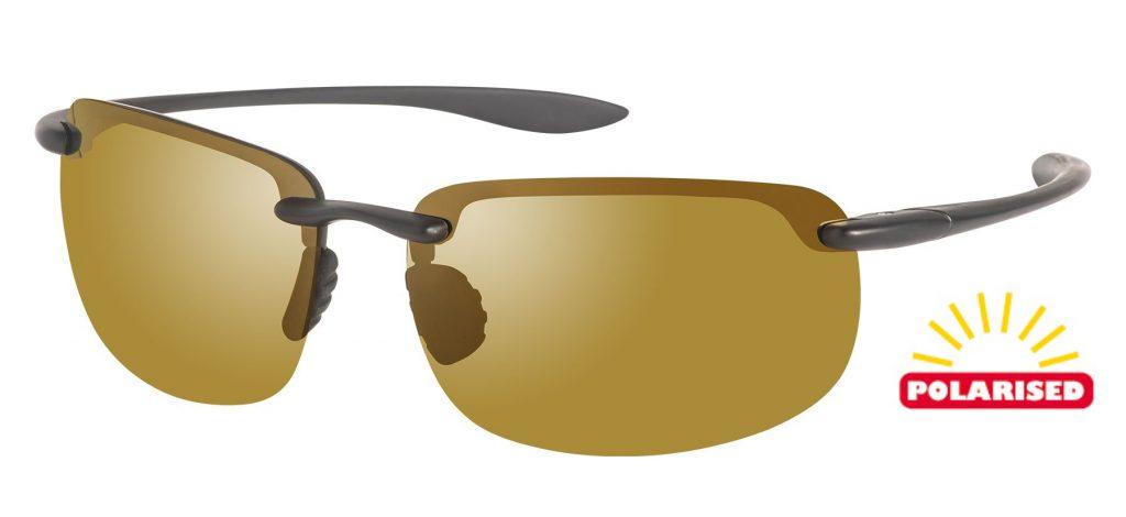 Attack Sports Sunglasses Blue-tinted Cat-3 UV400 Shatterproof Lenses