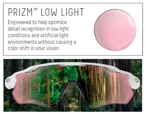 Oakley Prizm lenses - Prizm low light