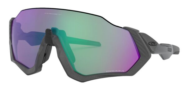 Oakley Flight Jacket - Matte Steel - Prizm Road Jade - 940115