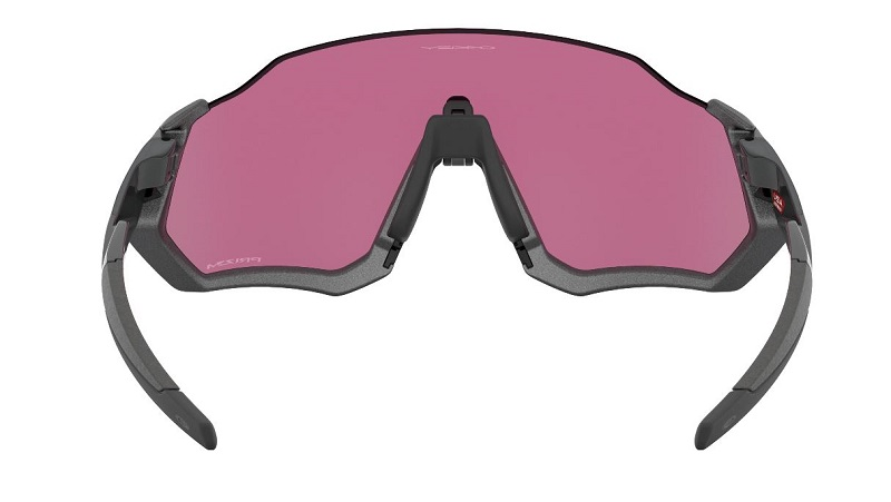 Oakley Flight Jacket - Matte Steel - Prizm Road Jade - 940115 - back