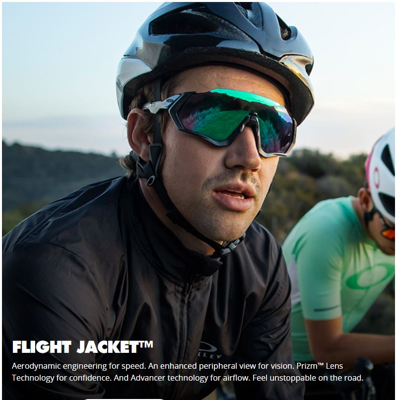 Oakley flight jacket - prizm road jade