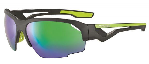 Cebe Hilldrop prescription sunglasses - matte grey lime CBS014