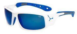 Cebe Ice 8000 prescription sunglasses - Shiny white blue