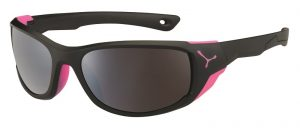 Cebe Jorasses Medium prescription sunglasses - black pink