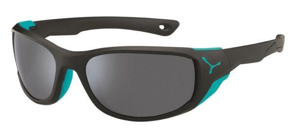 Cebe Jorasses Medium prescription sunglasses - black turquoise