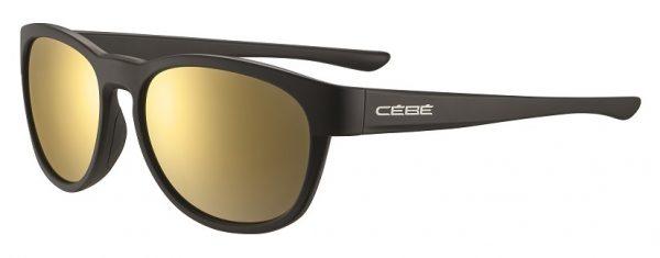 Cebe Queenstown prescription sunglasses - black gold