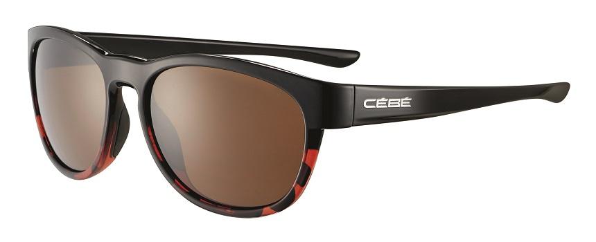 Cebe Queenstown prescription sunglasses - shiny black tortoise