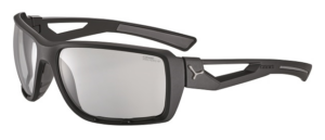 Cebe Shortcut prescription sunglasses - matte black grey