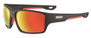 Cebe Strickland prescription sunglasses - black red