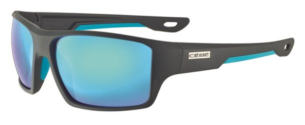 Cebe Strickland prescription sunglasses - grey blue