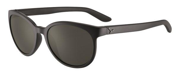 Cebe Sunrise prescription sunglasses - matte black silver