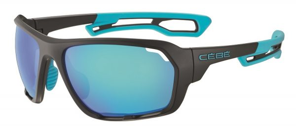 Cebe Upshift prescription sunglasses - matte black blue