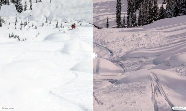 Oakley Prizm Snow Black - Category 4 lenses