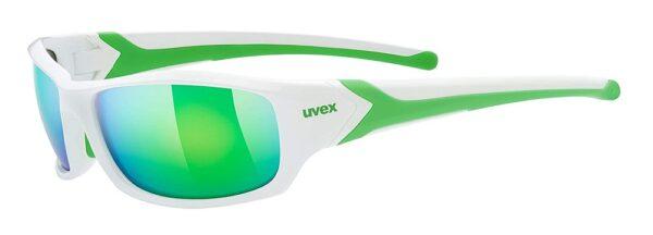 Uvex Sportstyle 211 - white- green