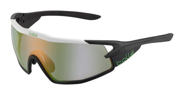 Bolle B-ROCK PRO 12630 - White Matte - Phantom Clear Green Photochromic