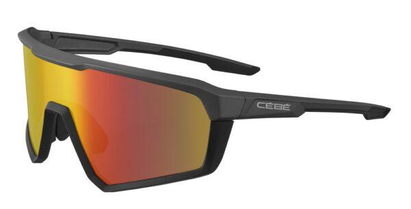 Cebe ASPHALT CBS208 Gunmetal - Zone Grey Red