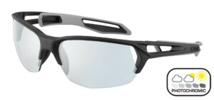 Cebe S Track 2.0 M CBS222 Matt Black Grey - Zone Varion Grey Blue - photochromic