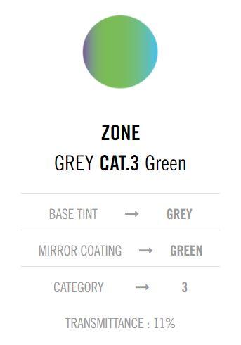 Cebe Zone Grey Green lens