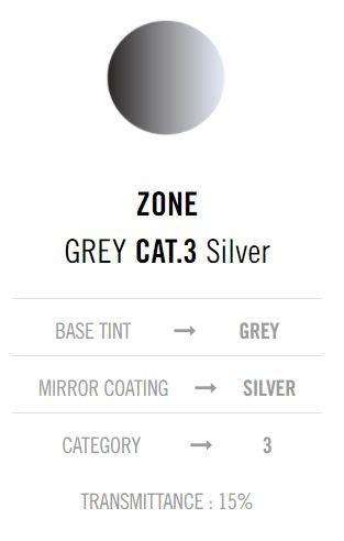Cebe Zone Grey Silver lens