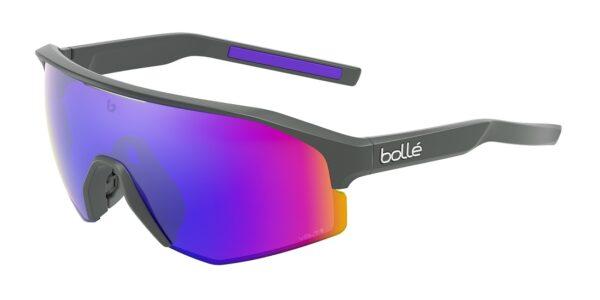 Bolle LIGHTSHIFTER BS020001 - Titanium Matte - Volt+ Ultraviolet Polarized