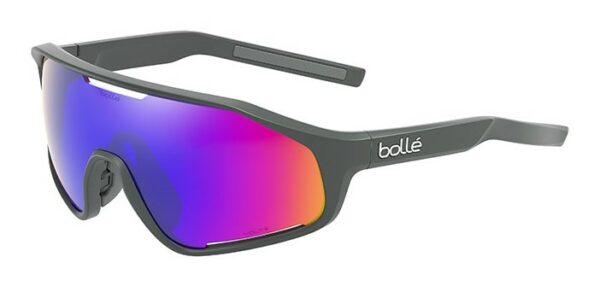 Bolle SHIFTER BS010001 - Titanium Matte - Volt + Ultraviolet Polarized - left