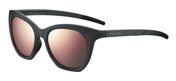 Bolle - PRIZE - BS029003 - Black Crystal Matte - Brown Pink Polarized