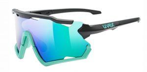 UVEX Sportstyle 228 (Black/Mint – Green mirror)