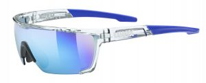 UVEX Sportstyle 707 (Clear – Blue mirror)