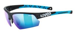 UVEX Sportstyle 224 (Black – Blue)