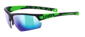 UVEX Sportstyle 224 (Black – Green)