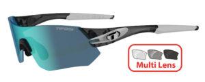 Tifosi Tsali (Crystal Smoke) 3 Lens Interchangeable Set